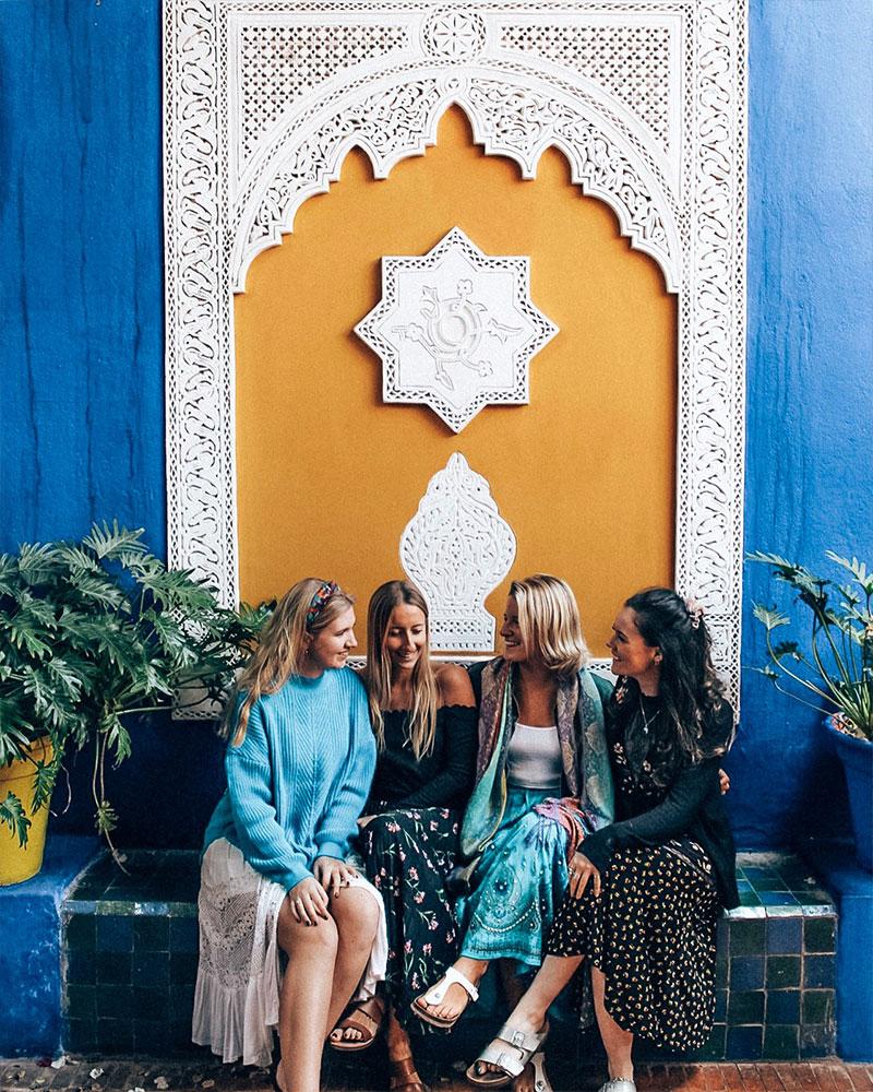 Yves SaintLaurent garden in Marrakech