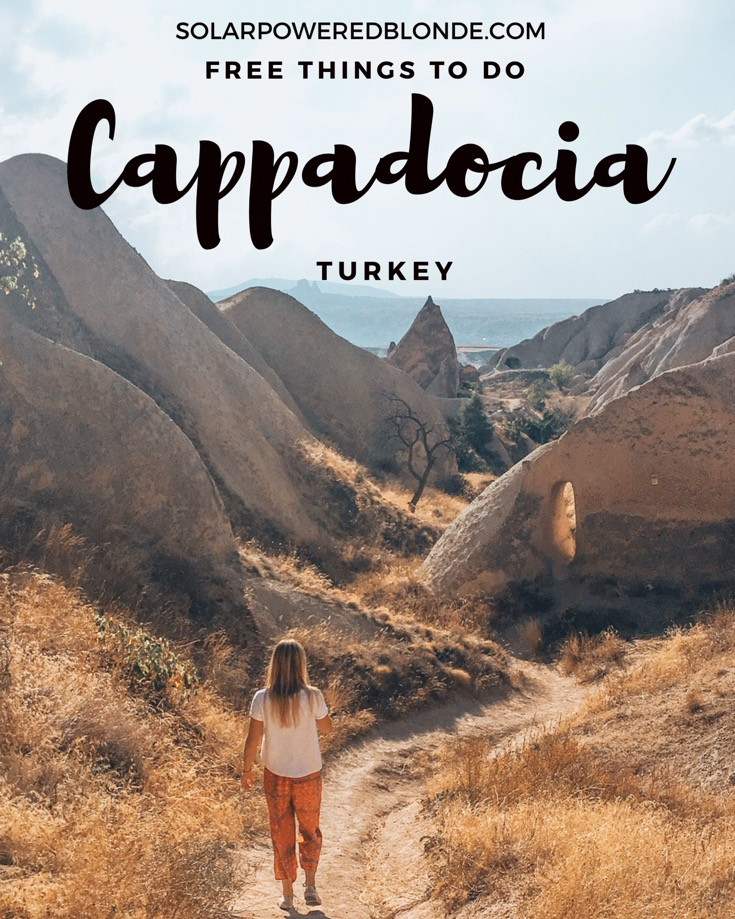 Free things to do in Cappadocia!