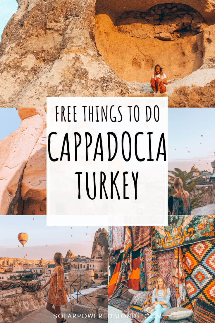 Photos from Cappadocia collage with text overlay for Pinterest
