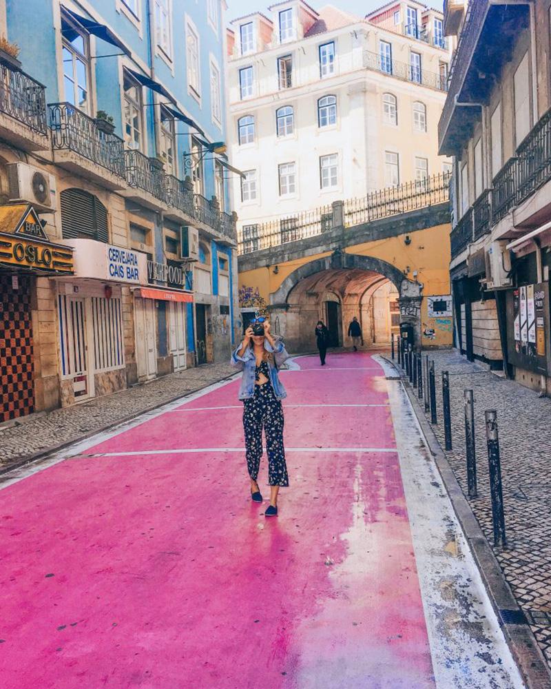 Pin Street in Lisbon!
