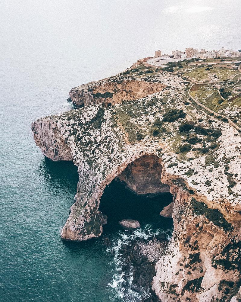 The Blue Grotto in Malta