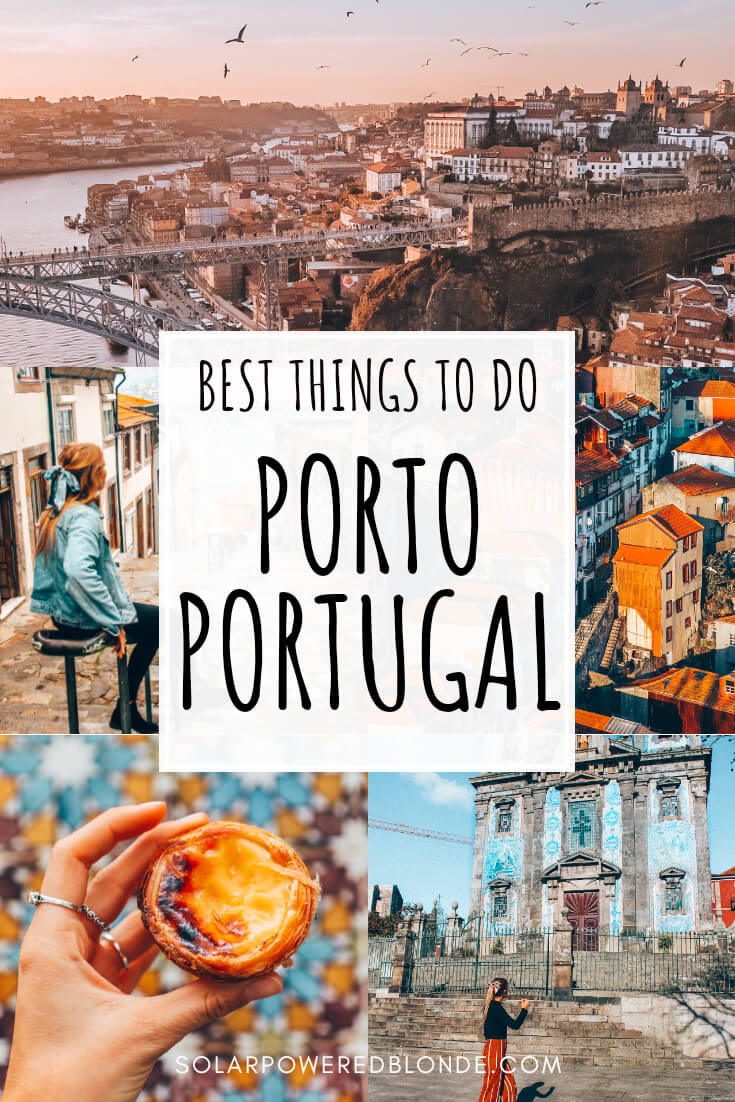 What to do in Porto with writing overlay, photos from Porto