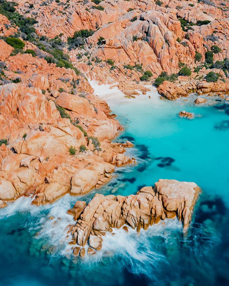 Cala Coticcio in Sardinia