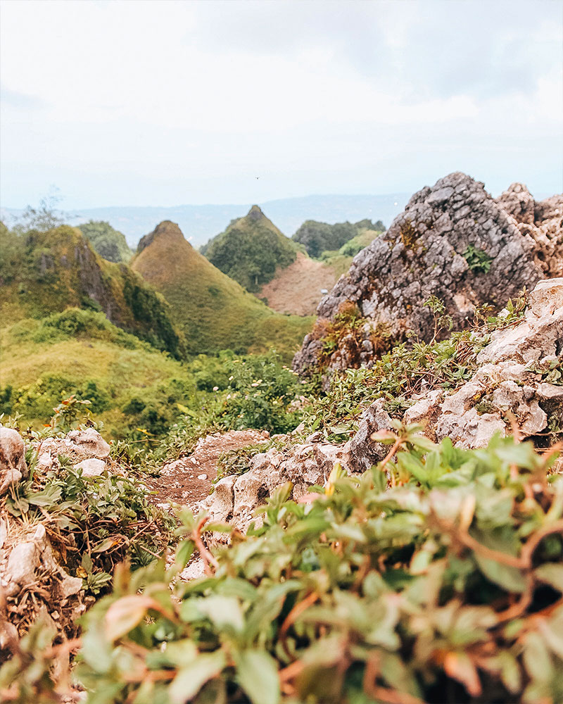 Osmena Peak in Ceby island Philippines
