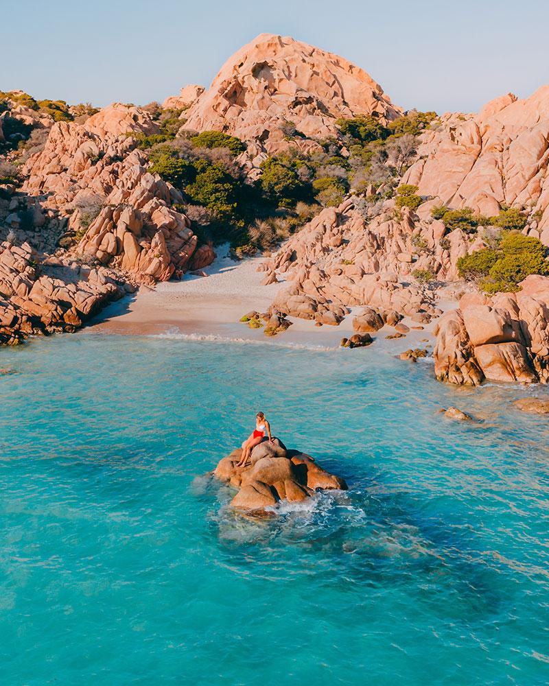 Cala Coticcio, Sardinia