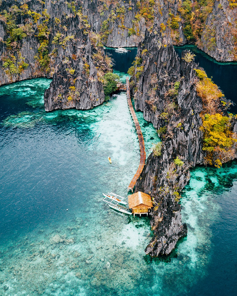 Island hopping in Coron, Kayangan Lake, Coron, Philippines