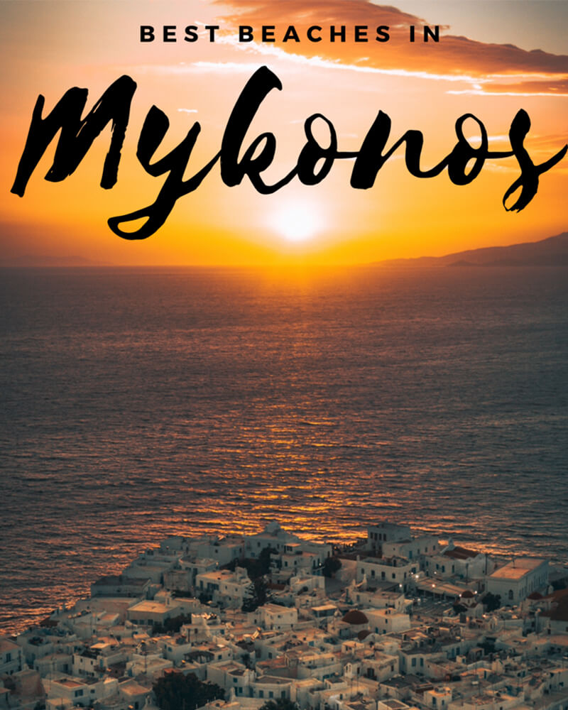 Best beaches in Mykonos!