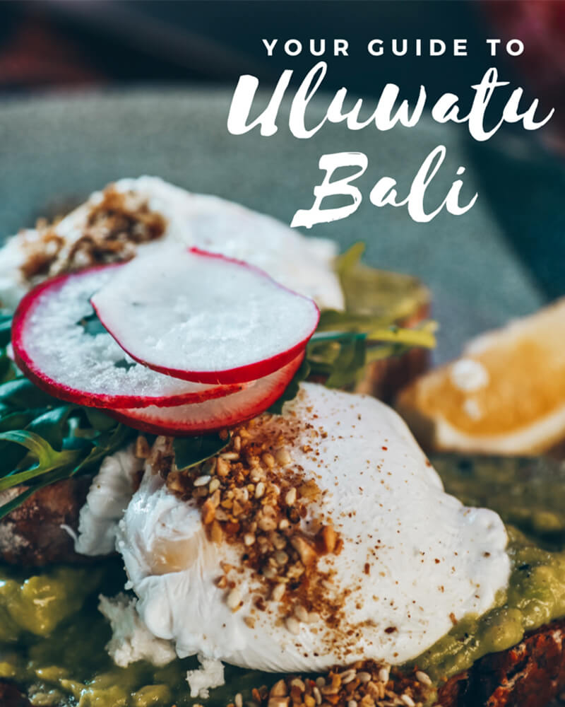 Your guide to uluwatu, where to eat, photo of breakfast