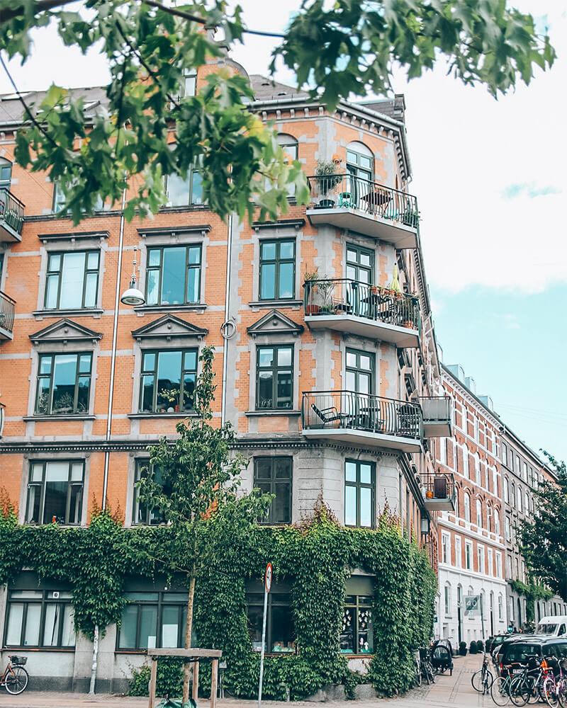 House in Frederiksberg in Copenhagen