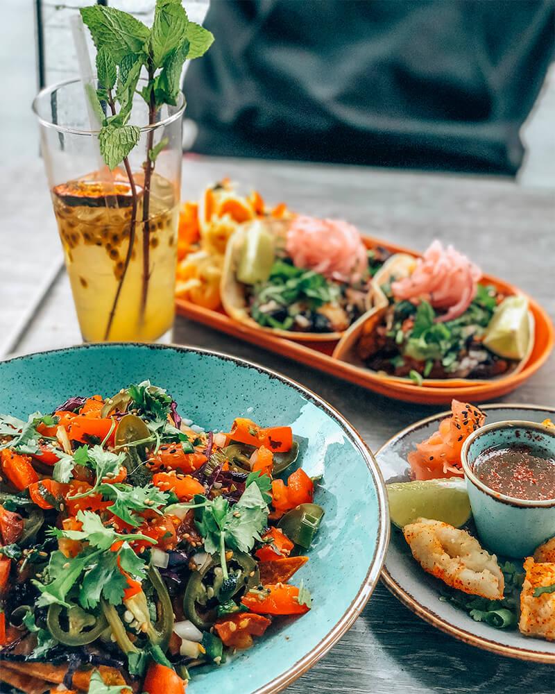 The food at Scania Bar in Malmö