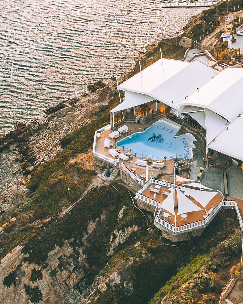 Cavo Paradiso Pool, one of the best places to party in Mykonos