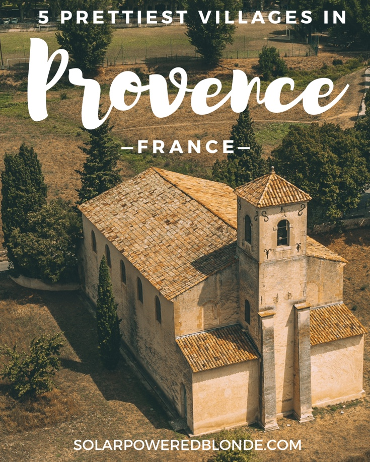 Church in Provence - Pinterest Graphic
