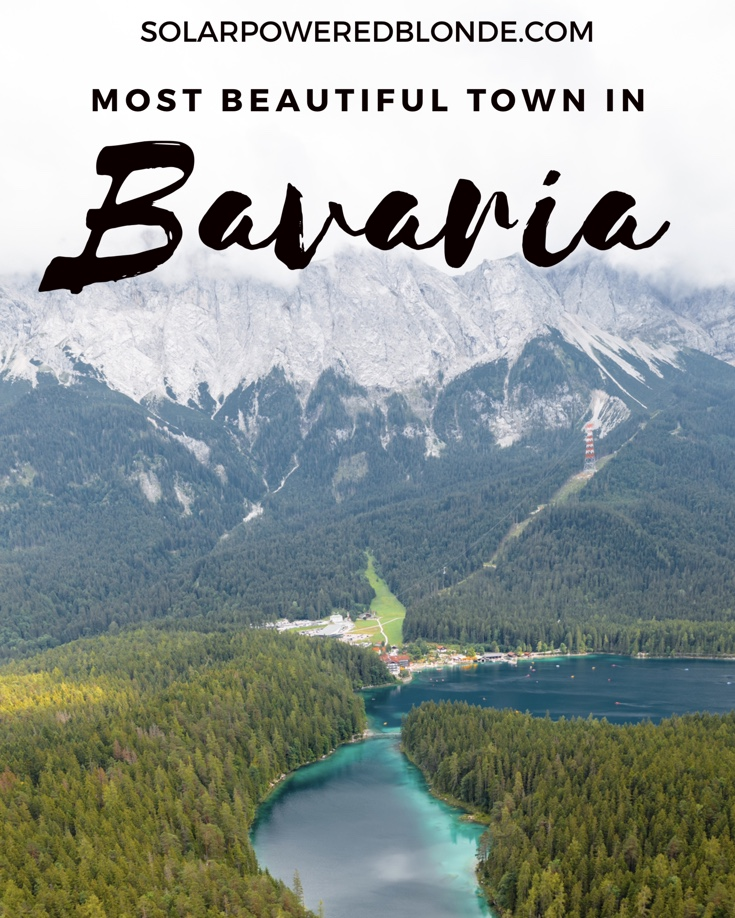 Pinterest graphic of the most beautiful towns in Bavaria