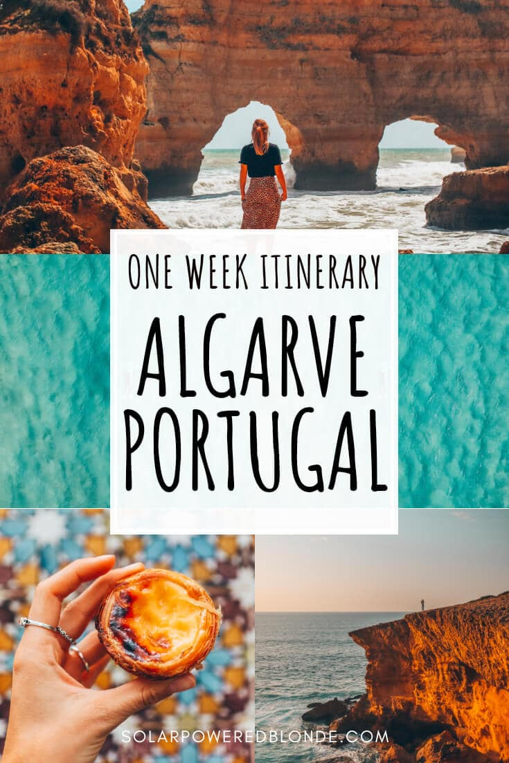 The best highlights of the algarve with text overlay