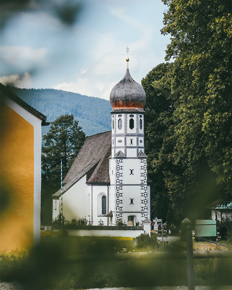 Church in Schliersee, bavaria