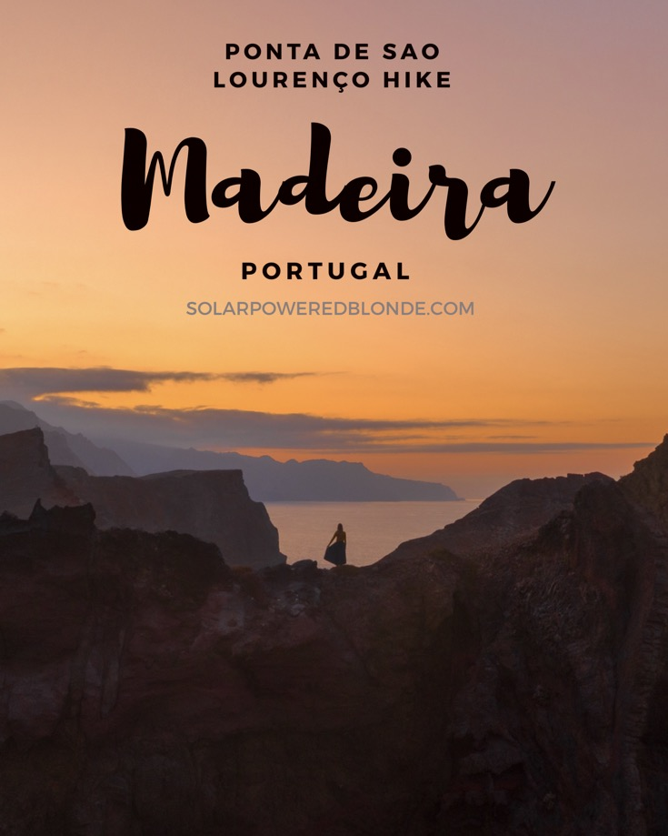 One of the best hikes in Madeira! At sunset