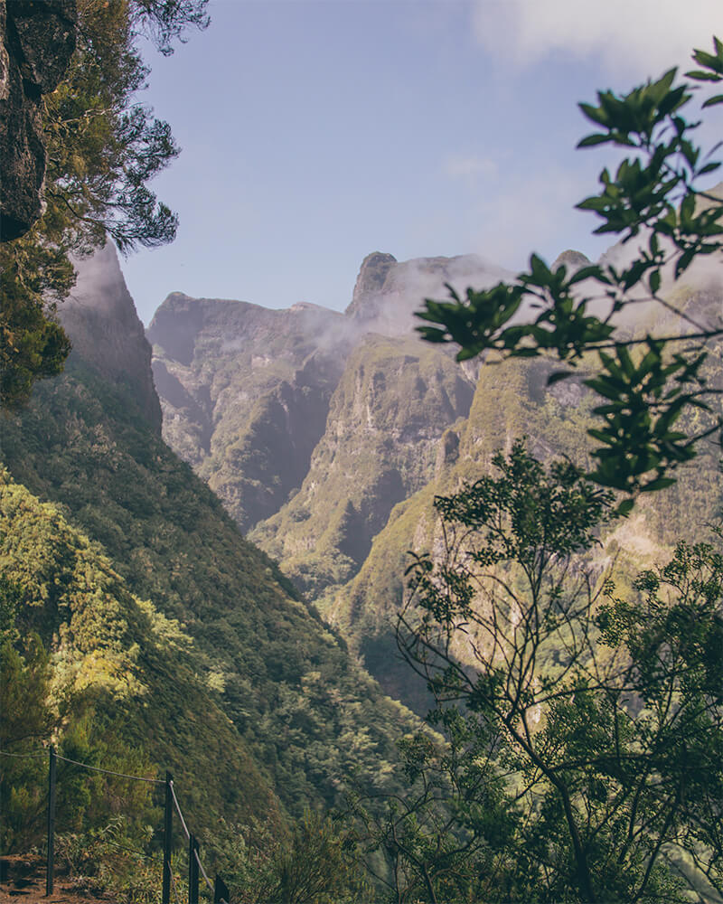 View from the levada walk