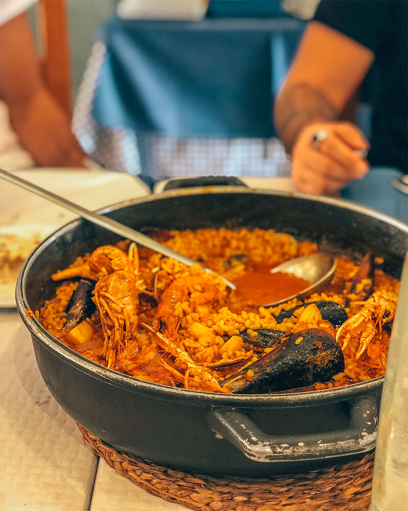 Where to eat the best seafood dish in benidorm - seafood rice