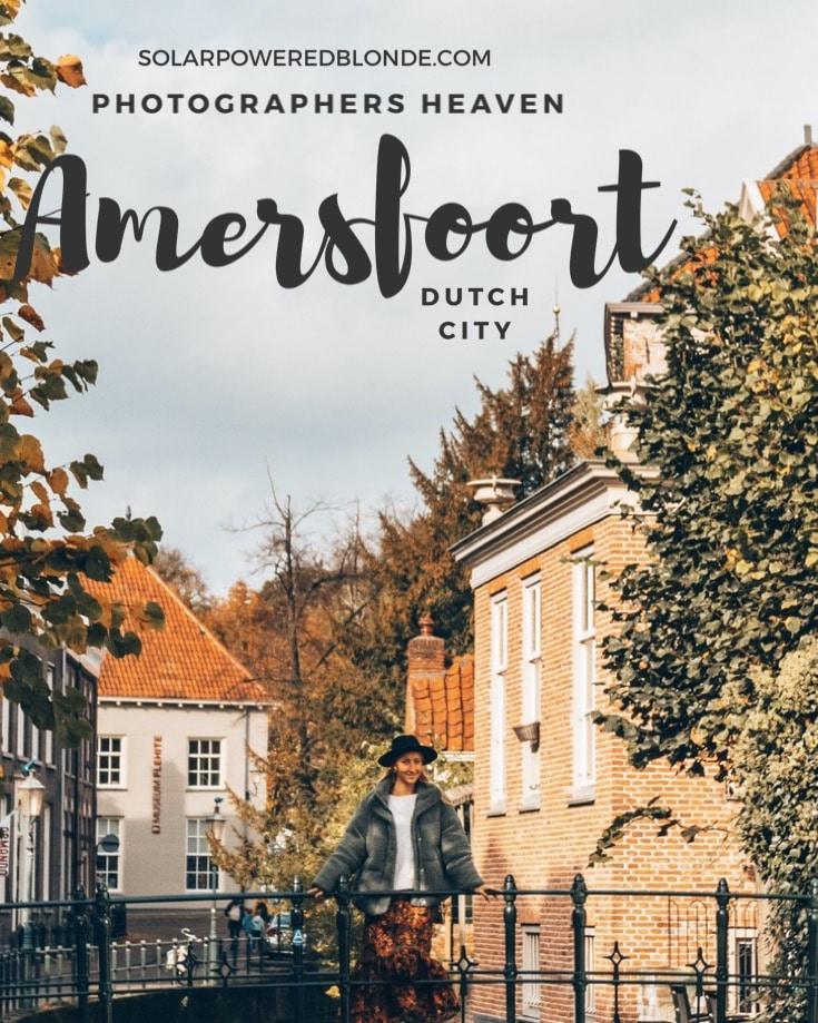 Me standing on a bridge in Amersfoort
