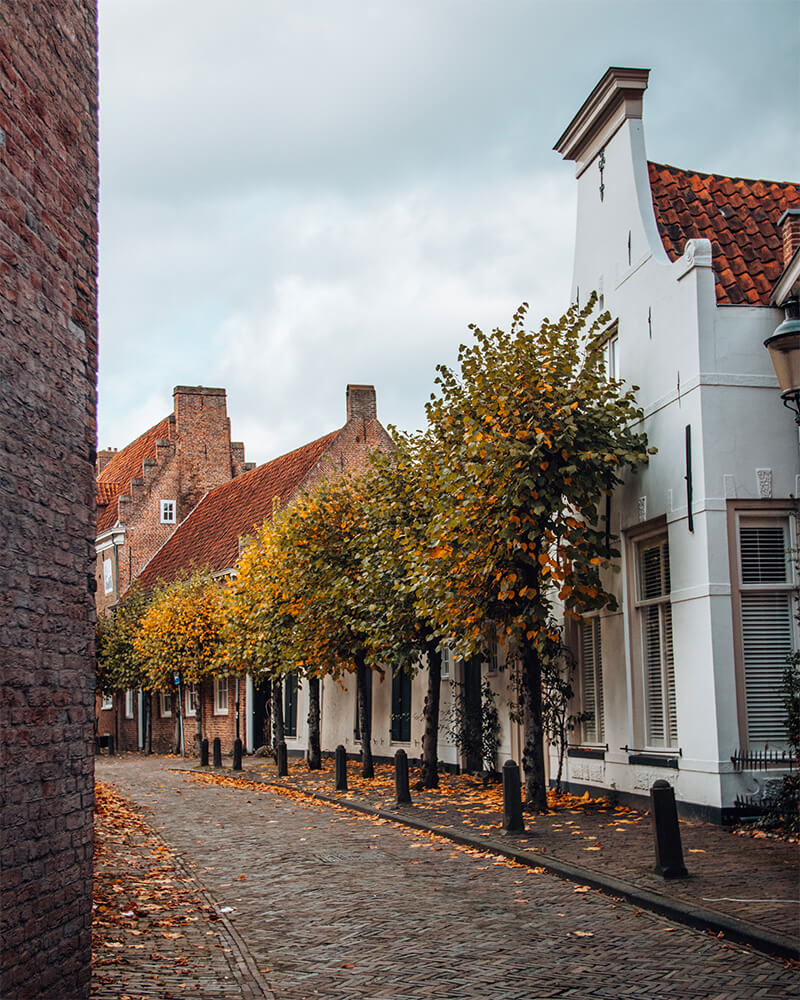 Best cities to visit in the Netherlands - street in Amersfoort