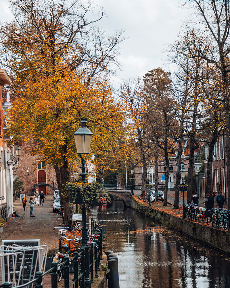 A canal in Amersfoort - best cities to visit in the Netherlands