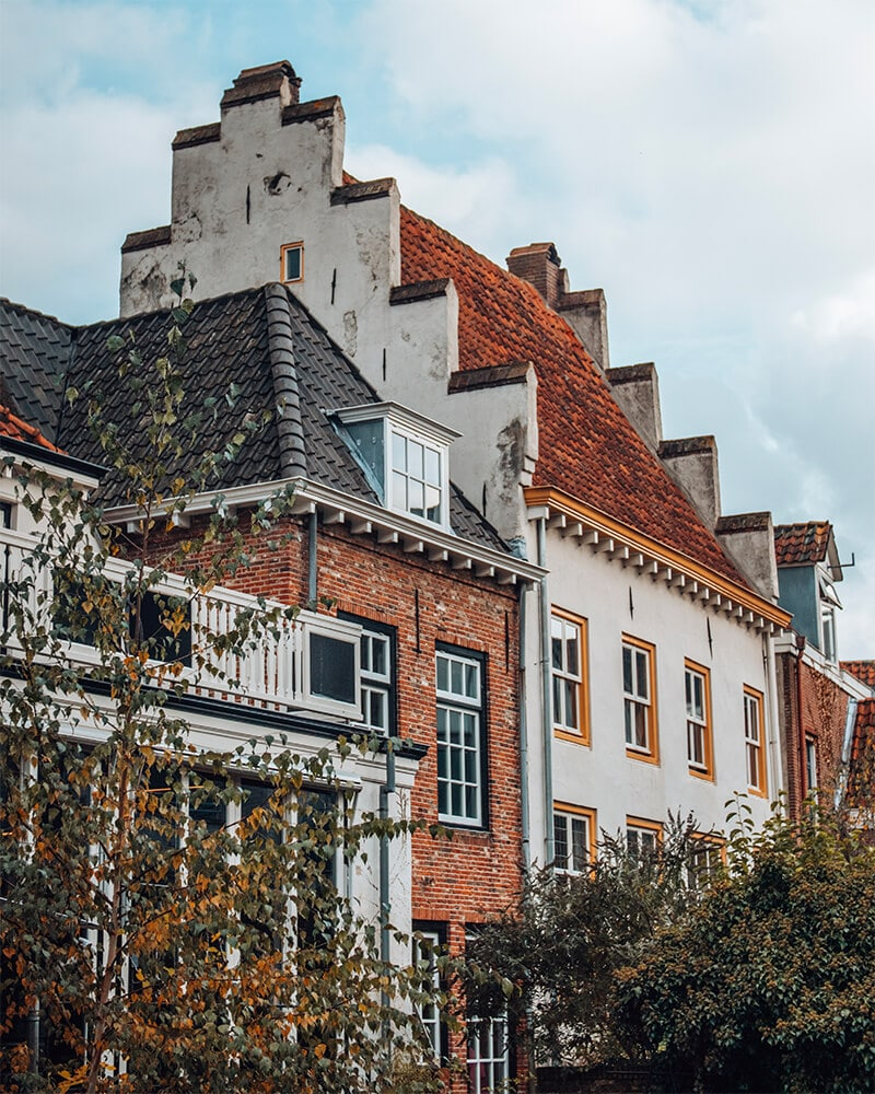 Traditional houses in Amersfoort