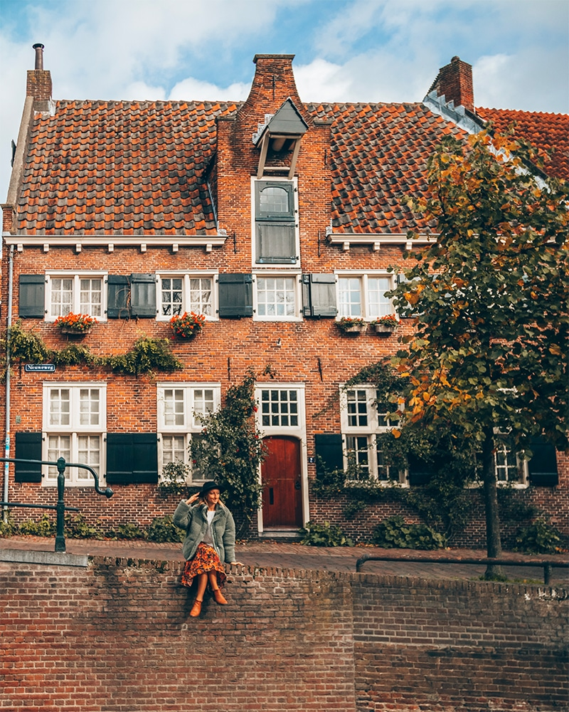Best cities to visit in the Netherlands - cutest spot in Amersfoort - a small B&B on the canal