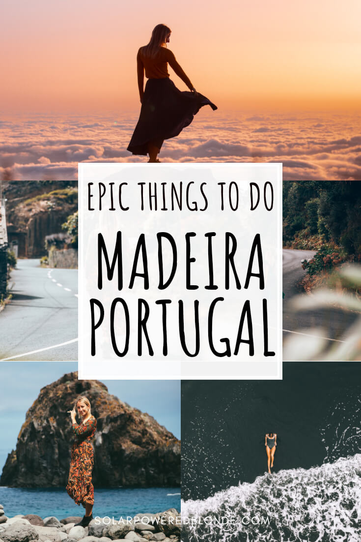 Best places see in Madeira with text overlay for Pinterest