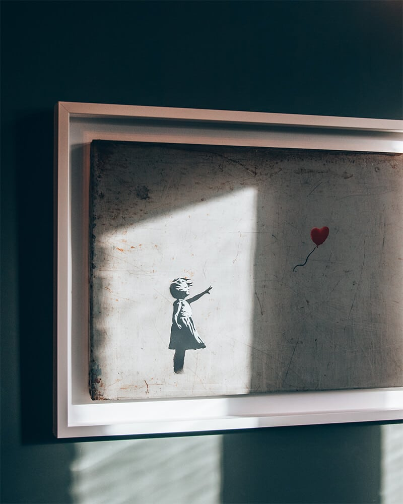 Head to Moco Museum to see some Banksy street art