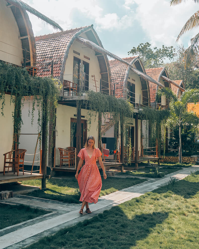 Tentacle Bali - great place to stay on Nusa Penida Island