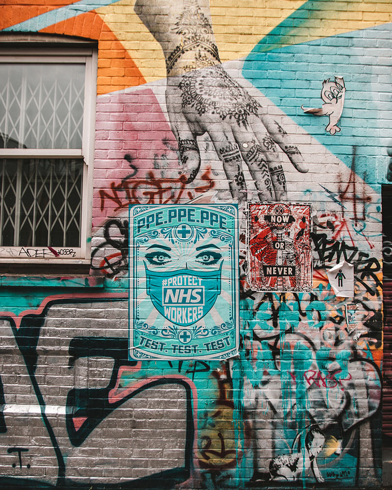 East London Street Art Guide - Ebor Street