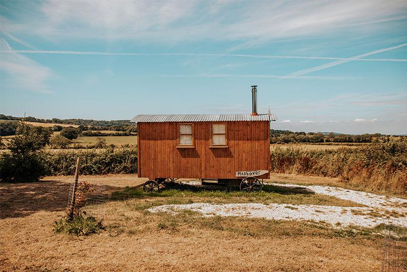 Moonfleet Farm - Mistover Hut in Dorset