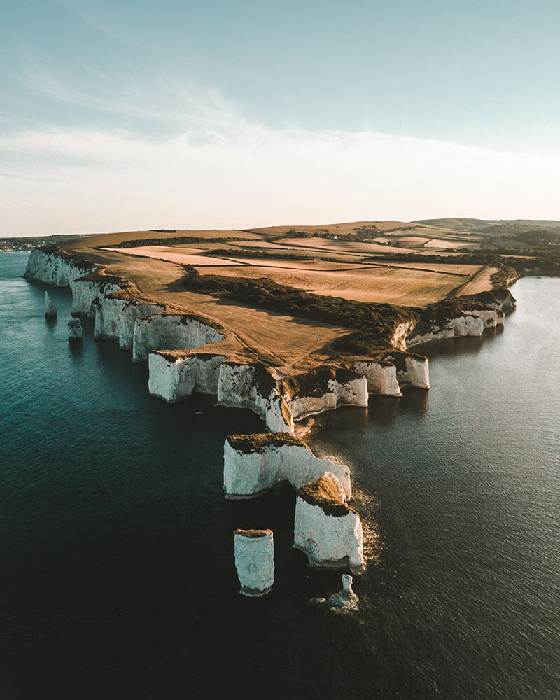 Why not pop to Old Harry Rocks on the way back from Isles of Scilly!